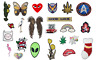 Embroidered Iron On Sew On Patches Badges Transfers Fancy Dress Various Designs