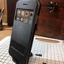 Original iPhone 6  6S Extreme Mac Folio Protective Book Case Active Window Black