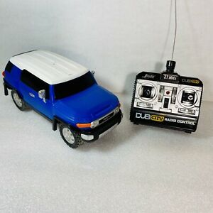 Toyota FJ Cruiser Jada Toys Dub City RC Rollers 1/24 Scale  (Batteries Included)
