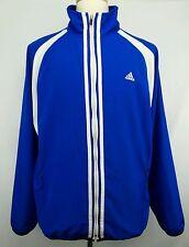 Vintage Adidas Full Zip  Windbreaker Jacket Size Adult Large L