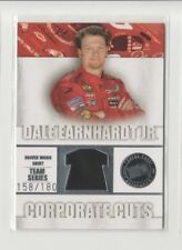 2007 Press Pass Traks Dale Earnhardt Jr Corporate Cuts Driver Worn Shirt /180