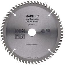 HM Sägeblatt, Universal Kreissägeblatt Ø250 für Weichholz Hartholz, Faserplatten
