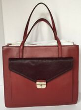 AUTHENTIC KATE SPADE Color Blocked Carryall with Calf Fur, NEW w/ TAGS (18-105)