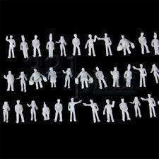 100 pcs. Z Scale People 1:220 Scale Plastic Figures Plastic Z Gauge Miniatures