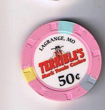 Terrible's Mark Twain .50 Casino Chip La Grange Missouri