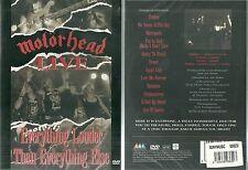 DVD - MOTORHEAD : MOTÖRHEAD EN CONCERT LIVE ( NEUF EMBALLE - NEW & SEALED )