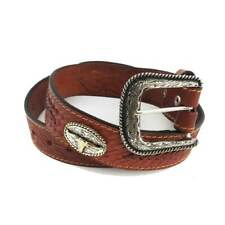 ref: 2020109 Ceinture Mexicaine western country marron homme, femme