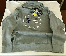 Under Armour 1292732-026 Men's Storm1 Cotton Freedom BFL Hoodie, Large, NWT