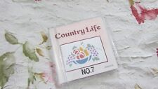 Emb Card #7 COUNTRY LIFE Bernette Deco Brother Babylock Simplicity UNUSED