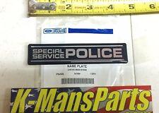 Ford SPECIAL SERVICE POLICE Emblem OEM Taurus Explorer Interceptor
