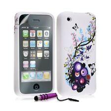 Housse étui coque en gel pour Apple Iphone 3G / 3GS avec motif HF01 + Mini sylet