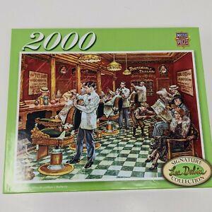 Masterpieces puzzle Barber Shop Lee Dublin 2000 Pieces signature collection