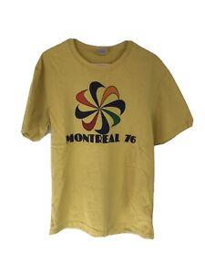 Nike Montreal 76 Shirt Vintage Pinwheel Limited Issue Track Running Marathon