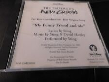 RARE THE EMPERORS NEW GROOVE STING BEST SONG  CD FYC DISNEY OSCAR PROMO SINGLE