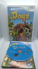 Dogz (Nintendo Wii, 2007) Age 3+ Ubisoft Cute Dogs Game Preowned