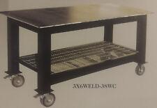 "3X6WELD-12 Badass Workbench Welding Table 3 FT x 6 FT with 1/2"" Steel Top"