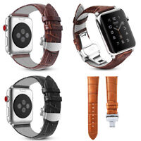 Real Leather Band Strap Bracelet for Apple Watch Series 4/3/2/1 38/42/40/44mm