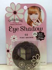 KOJI Dolly Wink Tsubasa Eye shadow (eyeshadow) 02 PINK BROWN