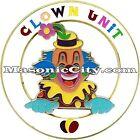 Z-89 Clown Unit Shriner Auto Emblem Shrine Temple Mason Masonic Car PHA Lodge