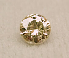 0.35+Ct 1 Polished Champagne ROUGH Natural DIAMONDS Gem