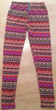 Women's Aztec Print Leggings Size SM/MED
