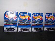 1997 Hot Wheels Tech Tones Series Set Of 4 Mip