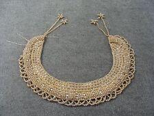 Vintage Baar & Beard Top Hit Fashion Hand Made Faux Pearl Collar Necklace Japan
