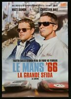 Poster Die Mans '66 Grande Herausforderung Ford Vs Ferrari Matt Damon Car P03