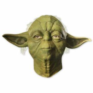 Star Wars Maske Yoda (Latex) -org. lizenziert