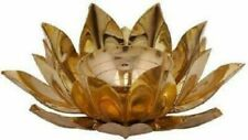 Lotus Diya Oil Lamp Brass Lamp Hindu Puja Aarti Pooja Religious Deepak Jyoti