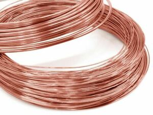 9ct Rose Gold Wire Assay Quality .375 - 0.5 mm thickness - Red