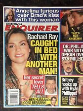 National Enquirer  June 4, 2007 Rachel Ray  Britney Spears  Brad and Angelina