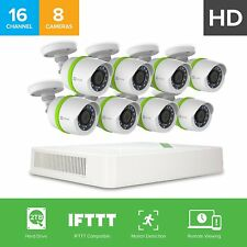 EZVIZ 720P 8x Bullet Camera 2TB HDD 16 Channel Smart Home Video Security System
