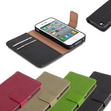 Handy Hülle für Apple iPhone 4 / iPhone 4S Cover Case Tasche Etui Luxury Glatt