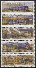 South Africa 1997 Blue Train strip of 5 unmounted mint