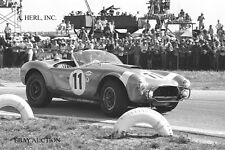 AC Cobra - Dan Gurney in action 1964 12 Hours of Sebring - Shelby Cobra Ford