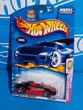 Hot Wheels 2003 Carbonated Cruisers #86 MX48 Turbo Black w/ China Base
