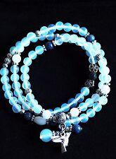 Opalite Crystal Natural Gemstone Bracelet or Necklace Hummingbird Ideal Gift