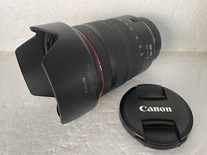Canon RF 24–105mm f/4L IS USM Lens for EOS R/RP/R5/R6 Mint Condition LOOK!