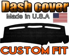 fits 2014  CHEVROLET  TAHOE  DASH COVER MAT DASHBOARD PAD  /  BLACK