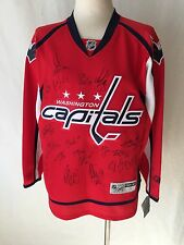 Washington Capitals Autographed Team Red Jersey 2009
