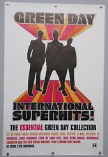 More details for green day poster original record store promo international superhits 2002