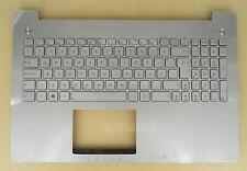 For ASUS N550LF N550JA N550JK N550JV Keyboard Palmrest Backlit Latin Spanish