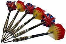 6 pcs (2 sets) Steel Needle Tip Dart Darts With Nice Flight Flights Brass Darts