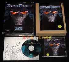 STARCRAFT 1 Pc Versione Italiana Star craft 1ª Edizione Big Box ••••• COMPLETO