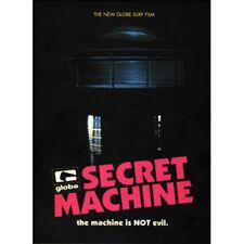 GLOBE SECRET MACHINE RARE VERY GOOD DVD 2006 SURFING TAJ BURROW, CJ HOBGOOD OOP!