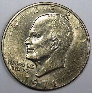 C001-55 # UNITED STATES | EISENHOWER, 1 DOLLAR, 1971, F