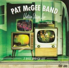 Pat McGee Band - Vintage stages live  - CD+DVD -