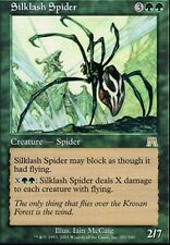 ▼▲▼ Silklash Spider (Araignée fouettesoie) ONSLAUGHT #281 ENGLISH Magic