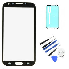 Replacement Screen Glass Lens with Sticky For Samsung Galaxy Note 2 N7100 T889
